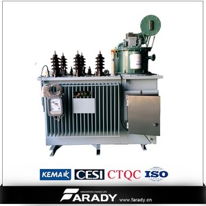 3 phase svr oil immersed Automatic Voltage Booster