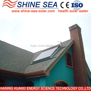 2015 Beautiful compact pressurized solar water heater/solar hot water For Hospital Use