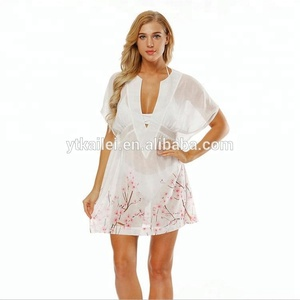Womens Bikini Beach Wear Cover Up Kaftan Ladies Summer Dress