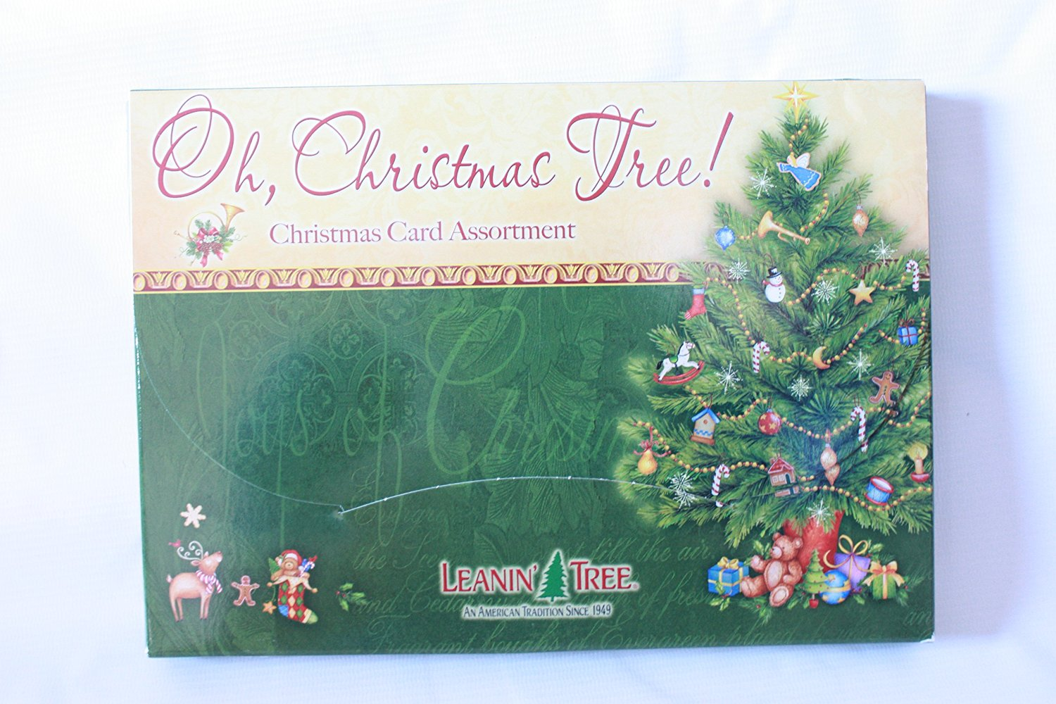 buy leanin 39 tree 20 pack design christmas cards cowboy christmas