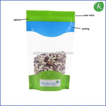 Frosted Ziplock Bags Zip Lock Plastic Zipper Can Be Printed Custom Logo