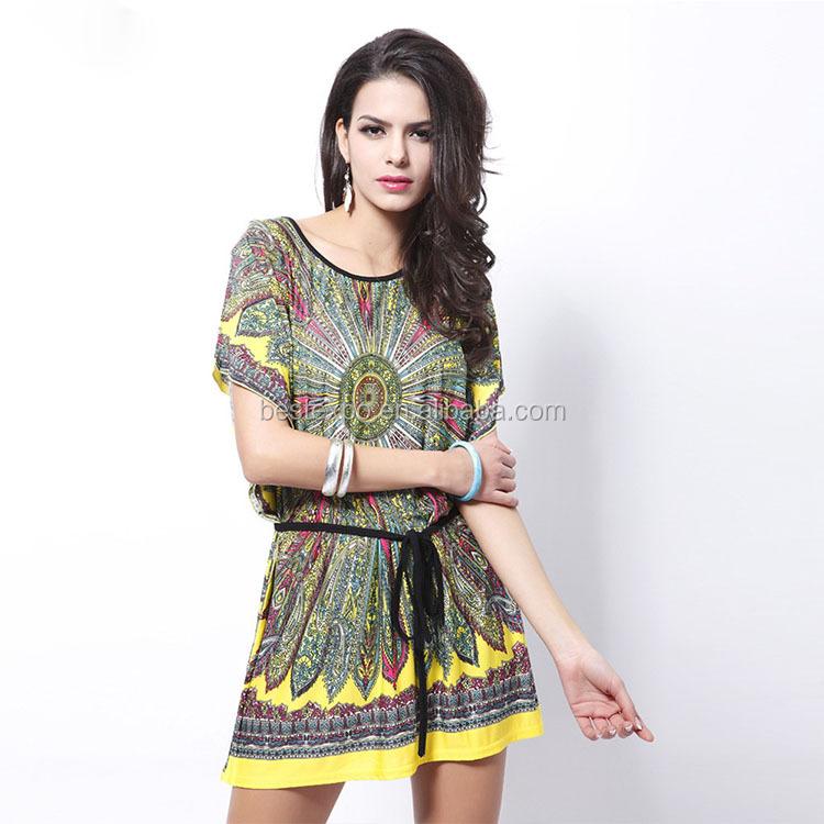 99d0683c5cf Amazon ebay top sell round neck long dress summer women plus size casual  dress