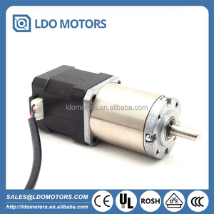 NEMA 14 35mm High Torque hybrid stepping planetary gearbox motor