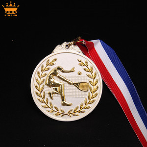 Cheap wholesale zinc alloy custom award custom medals no minimum order awards stand medal ribbon