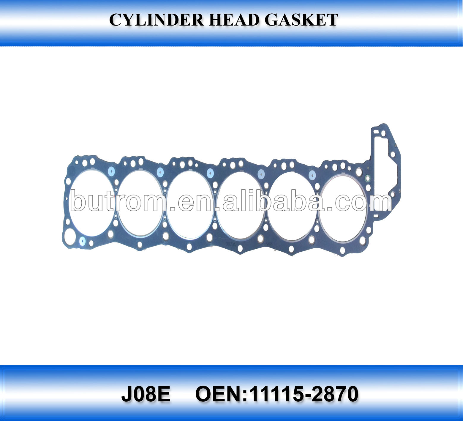 11115-2870 For Jo8e Hino Truck Engine Gasket - Buy Cylinder Head Gasket  Material,Head Gasket,Cylinder Head Gasket Product on Alibaba.com