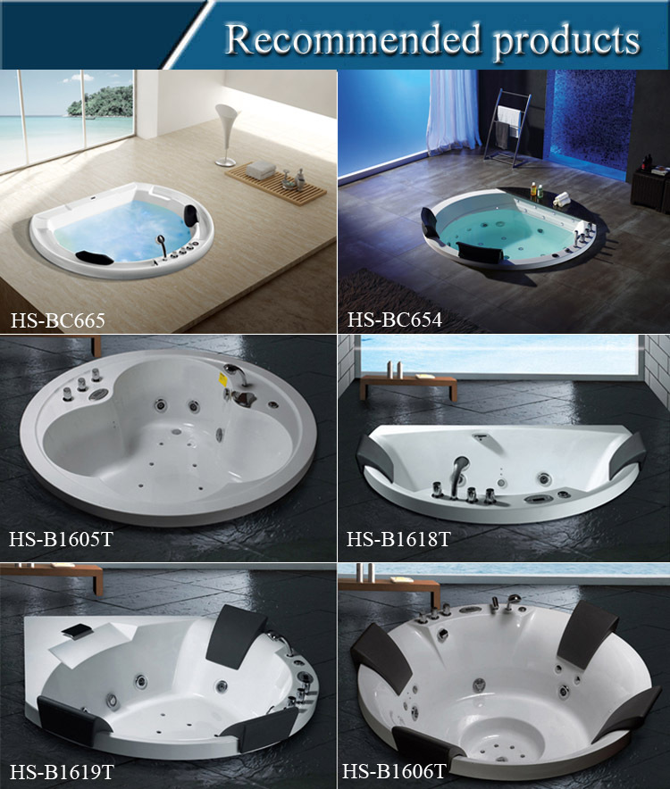 Hs 3329m round outdoor spa pool aqua spa whirlpool for Fiberglass drop in pools prices