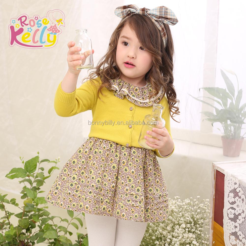e4af29d52a7d Lovely Winter Baby Girls Dresses