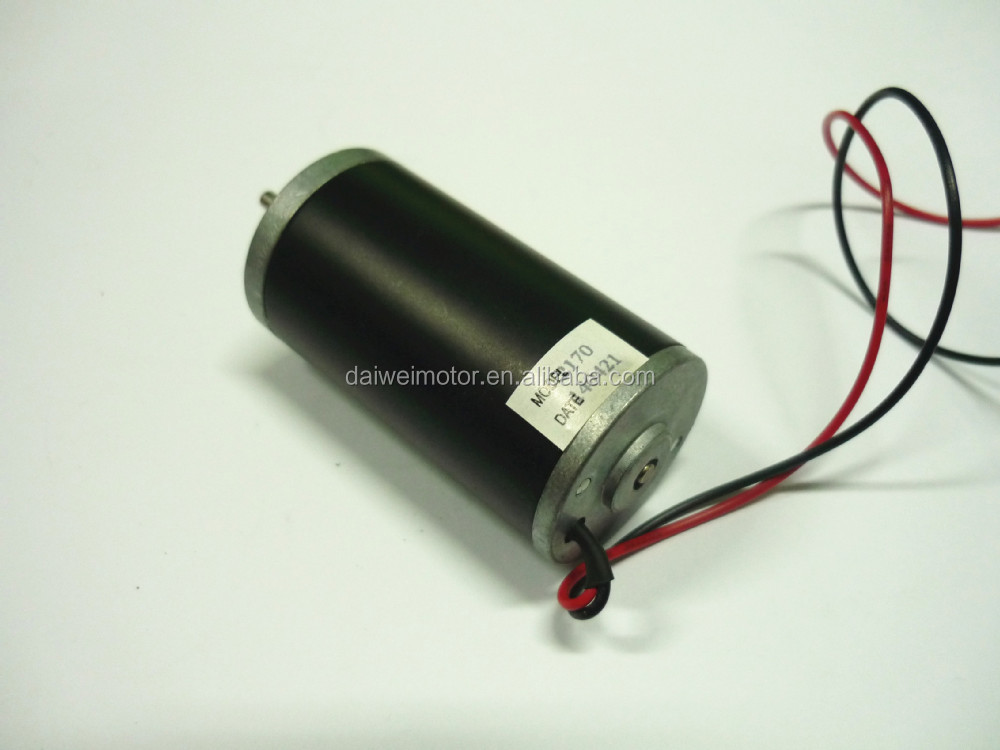 31mm 24V 6500rpm Brush permanent DC Motor DV31ZY-2465
