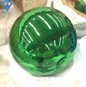 High Quality Green  Color  Decorative Stainless Steel Ball