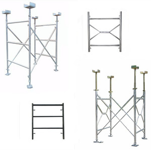 heavy type H frame scaffolding specifications and A frame for building construction