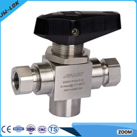 High pressure rosemount 3 way valve ball price