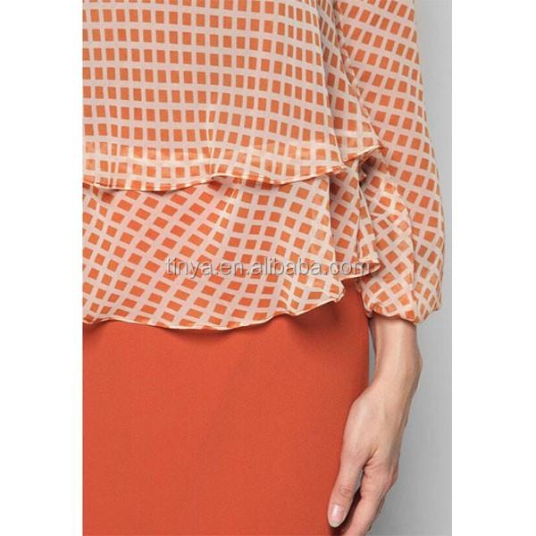 2 layer maxi dress long sleeve