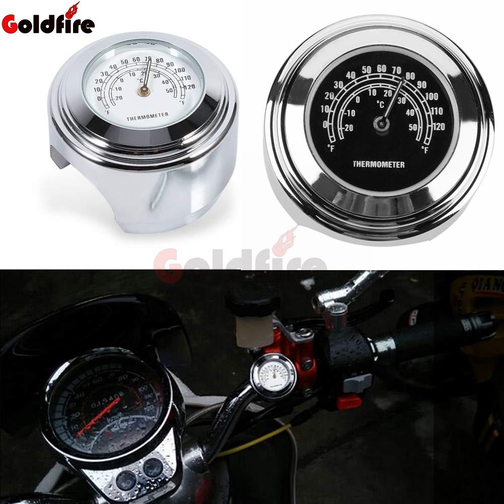 6cf08a955 Goldfire Universal de la motocicleta del montaje del manillar de  temperatura Fit 7/8