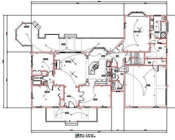 electrical drawing from handmade sketch buy electrical. Black Bedroom Furniture Sets. Home Design Ideas