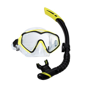 Professional adult silicone snorkeling set scuba diving equipment