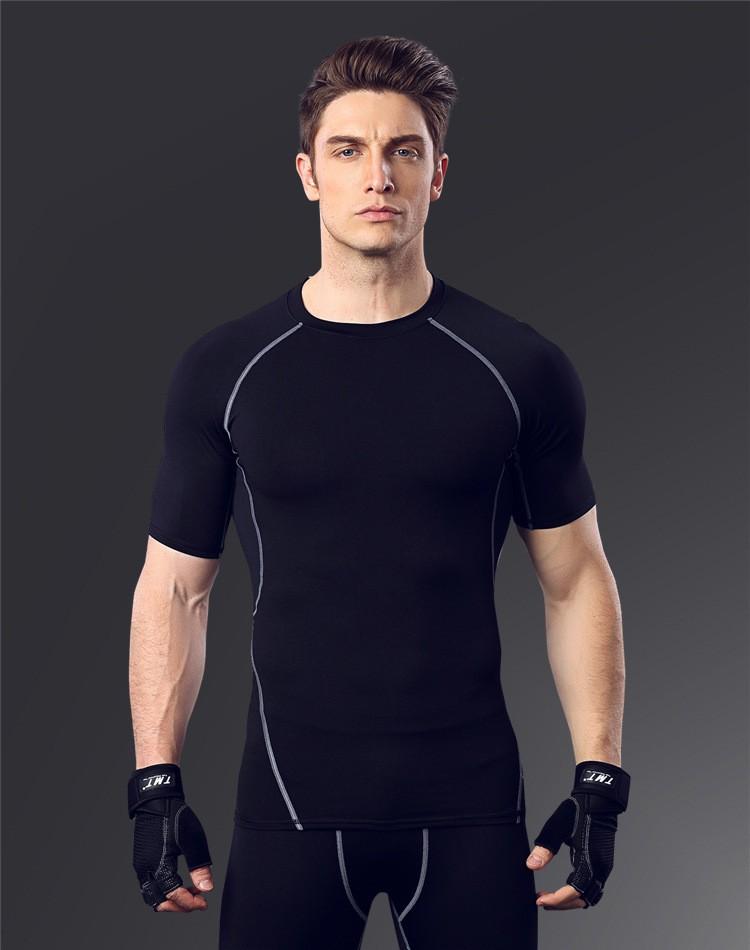 High Quality sports base layer shirt 7