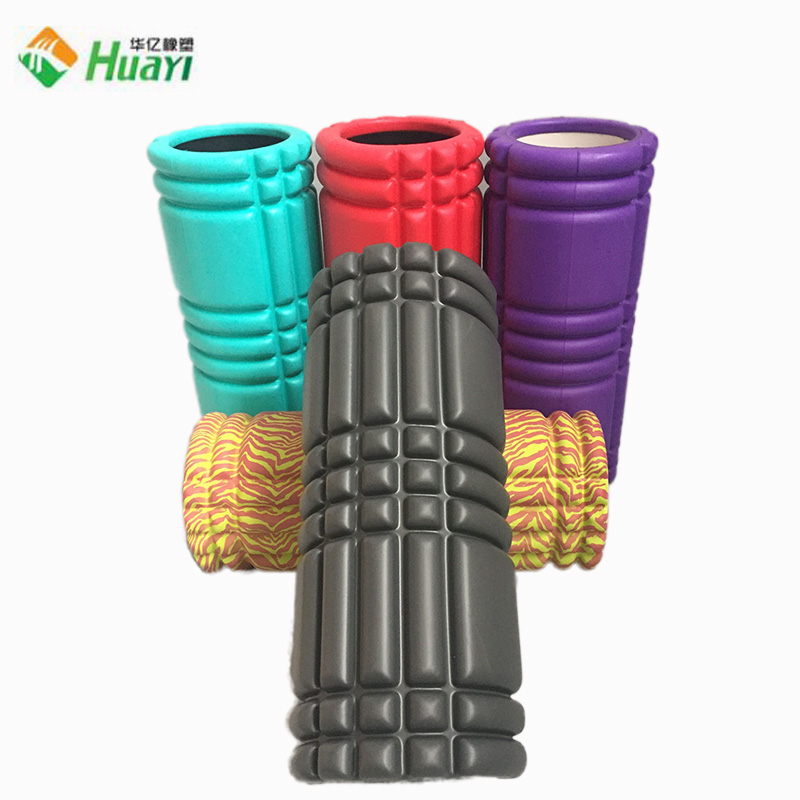 Eco-friendly EVA Hollow Yoga Foam Roller with Private Logo