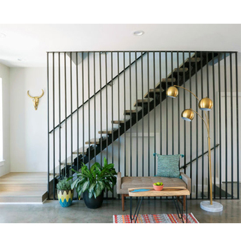 Superbe Contemporary Wood Floating Staircase With Vertisible Rod Railing   Buy Wood  Staircase Railing,Floating Staircase,Staircase Product On Alibaba.com