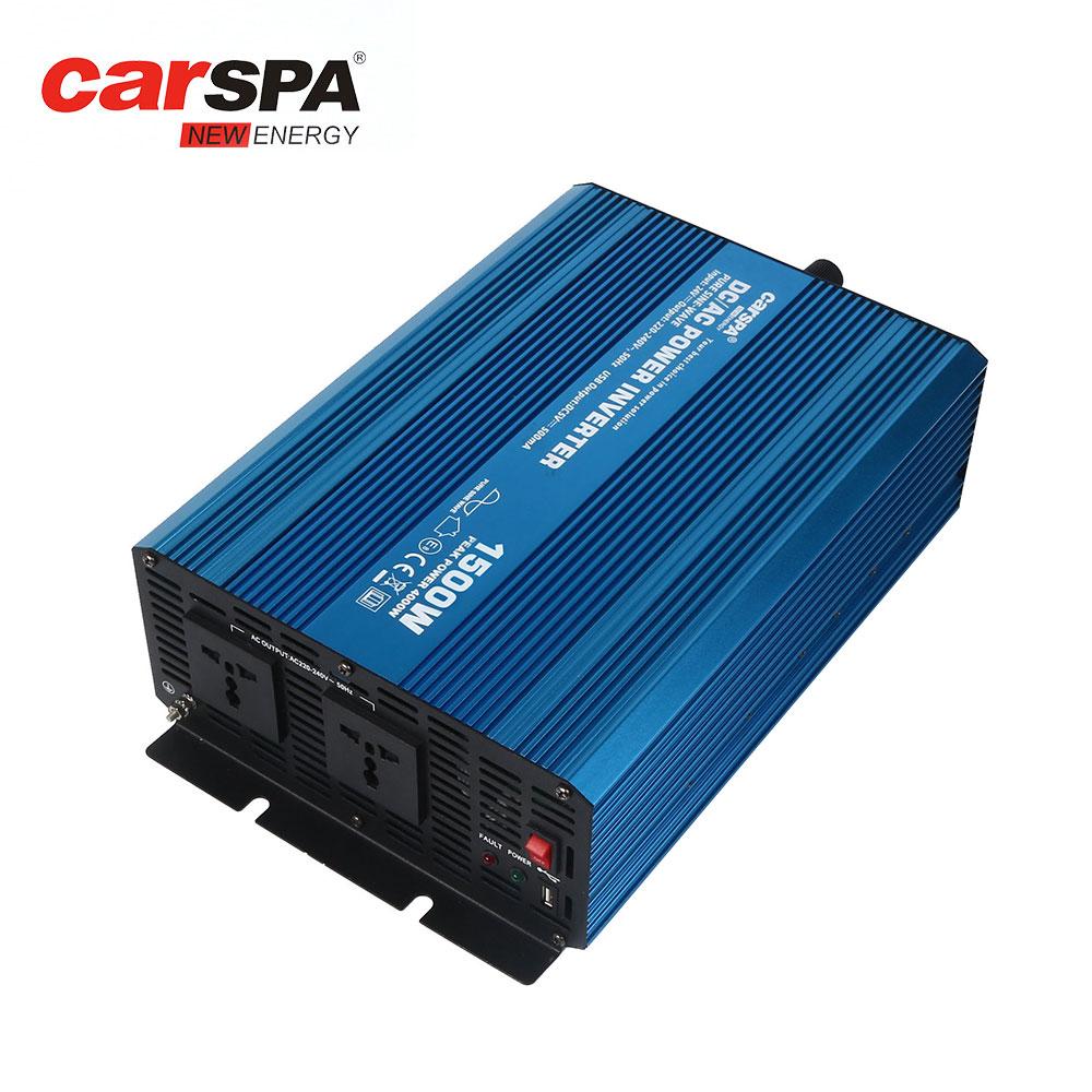 Erneuerbare Energie Heimwerker Friendly 2000w Dc To Ac Power Converter Dc 12v To 110v/220v Ac Usb Car Transformer