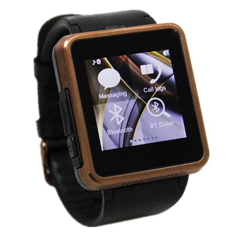 Smart Electronics Bluetooth Devices Unlocked Watch Cell Phone Hours Clock Sim Card Sync Call SMS Pedometer Relogio Celular Best