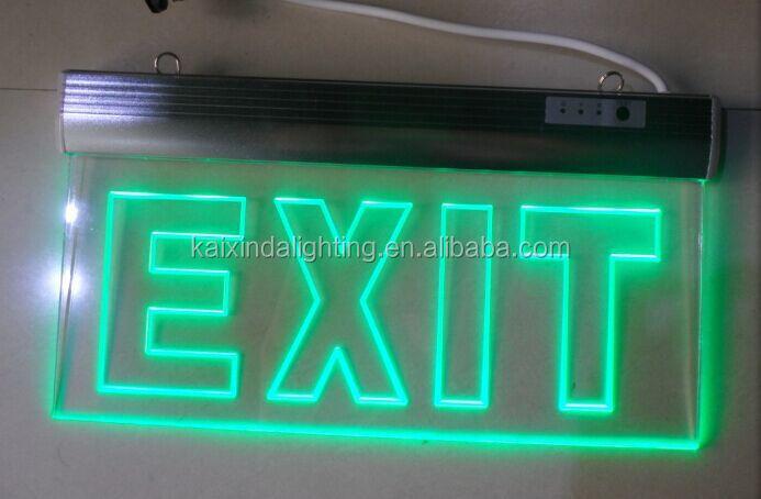 Led Emergency Illuminated Exit Signs