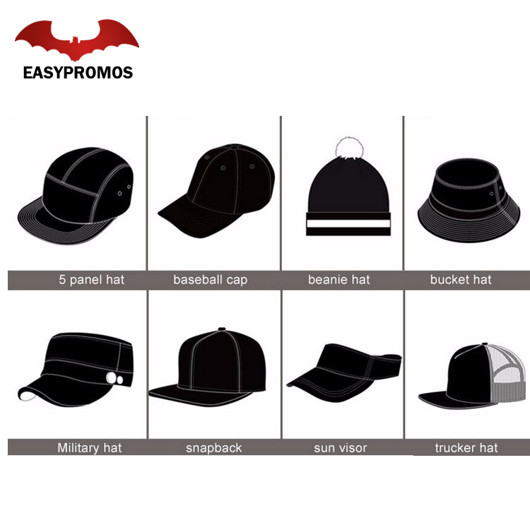 9196fa9c60e08 Wholesale Embroidery Types Of Peaks Army Cap And Military Caps Hats ...