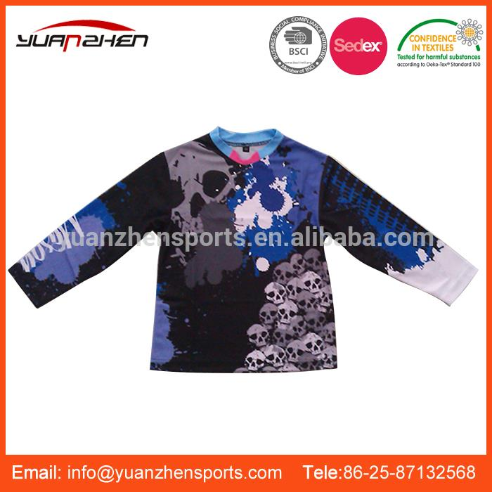 YuanZhen-china manufacturer men sexy sports race team motorcycle jerseys