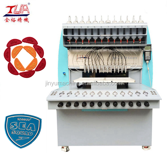 JY-B02 complete colorful PVC garment label production line