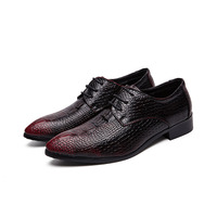 Factory direct high quality man shoes men leather oxford business shoe in stock
