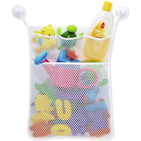 Bathroom toy storage bag