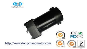 Hollow shaft gearmotor 12 36v wheelchair dc motor for Hollow shaft gear motor