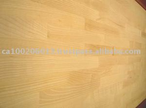 Solid Ash finger jointed panel