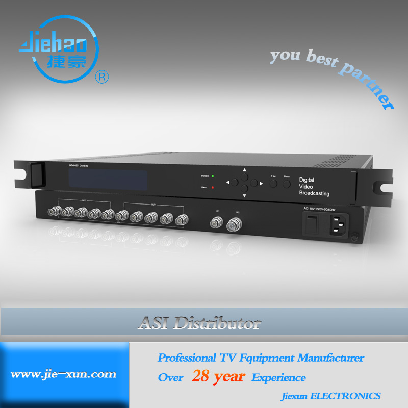 EPG Headend multichannel ASI distributor