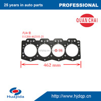high quality cylinder head gasket for WX490/ZN490 diesel engine parts