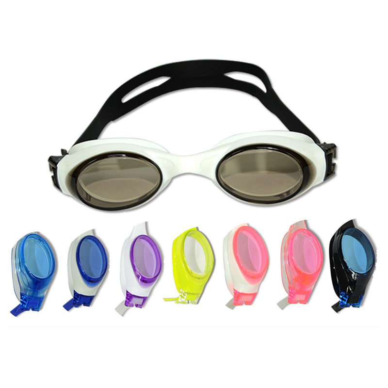 Promotion Junior Swim Goggles For Kids Cute Swimming Goggles, Junior Funny Swim Goggles With Anti Fog Technology