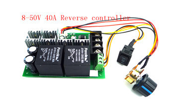 12V 24V 36V 48V 60V 20A PWM DC Motor Speed Control Controller Regulator Switch Adjustable with Reverse Polarity Protection
