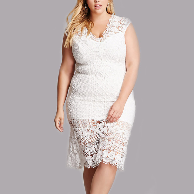 China Plus Size Lace Dress Wholesale Alibaba