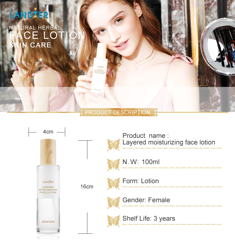 OEM/ODM Skin Care Moisturizing Whitening Body Lotion for Women