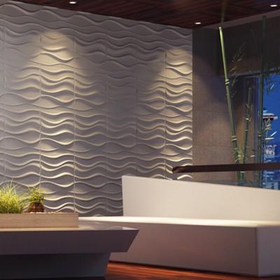 Chambre bambou fiber v g tale d coration d coration de for Revetement mural bambou