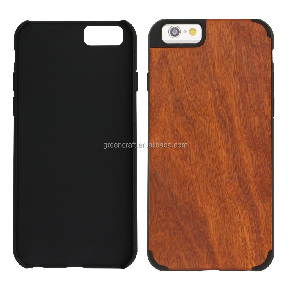 For iphone 6 Case Wood Pink Made of Natural Rosewood