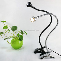 Creative USB 3W hose reading lamp with switch