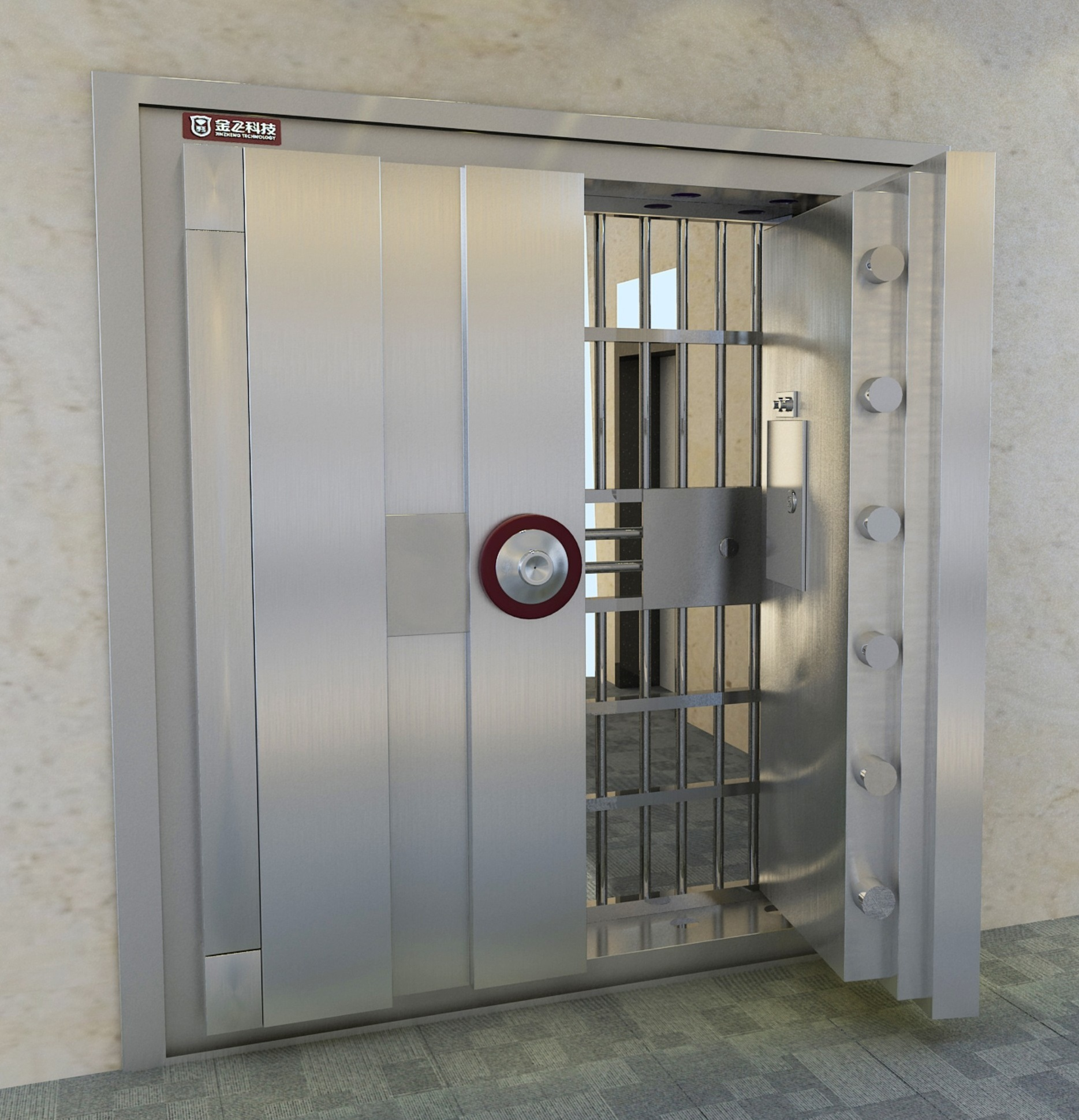 Hotel safe home safe vault door vault house manufacturer in china