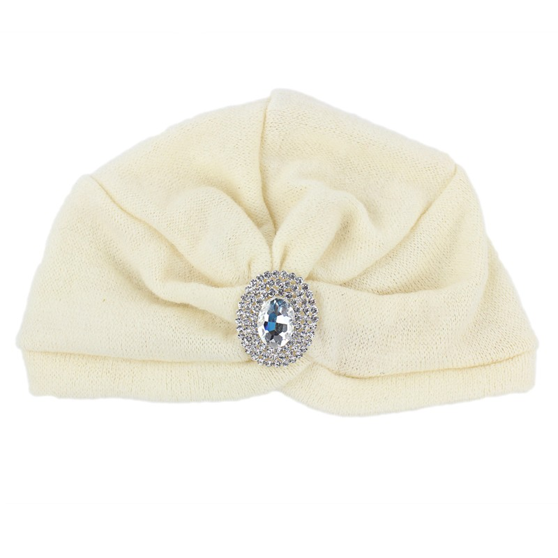 New jersey Turban Mit diamante brosche Vintage Stil kopf wrap hijab ...