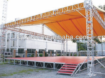 Aluminum portable stage used canopy tent for sale buy for Cheap trusses for sale