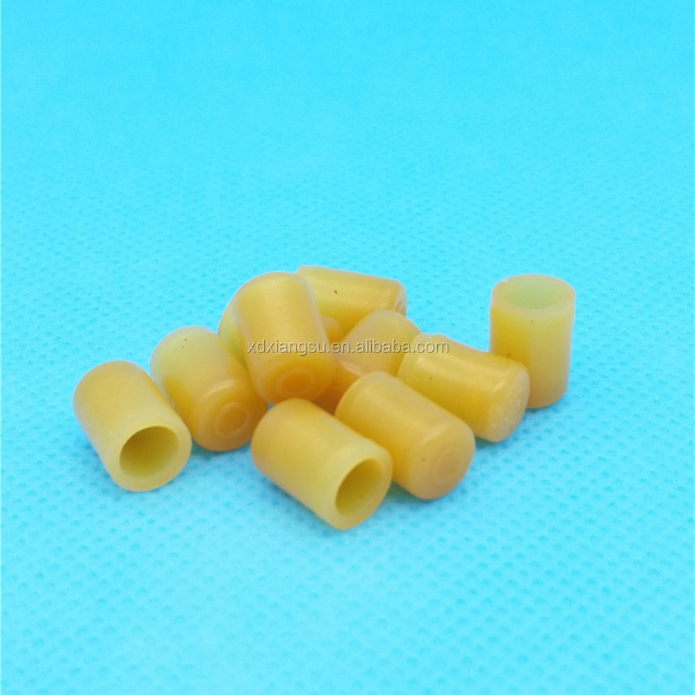 synthal / synthetic rubber plug parts for IV sets catheters cannula