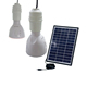 Solar hanging lights solar landscape lighting kits solar panel system with bulb