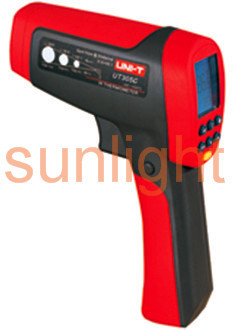 High Temperature Industrial Infrared Thermometer, -50 - +1550 Centigrade, 50:1, USB UT305C