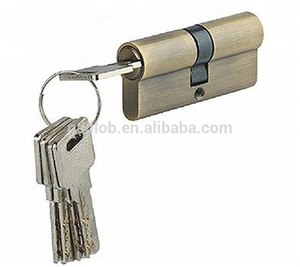 High quality lock core 70-120mm length safe door cylinder lock
