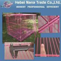 Rabbit breeding cage / welded rabbit cage wire mesh /pet cage for sale