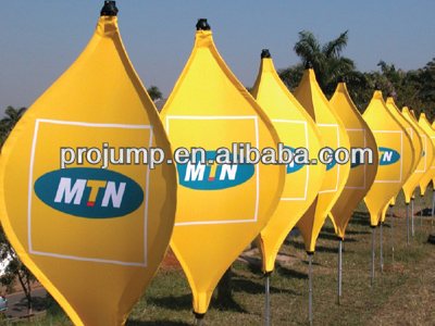 2013 outdoor and indoor glo diamond shape flying banner